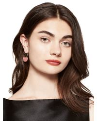 Kate Spade | Multicolor Sugarcoated Stone Drop Earrings | Lyst
