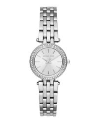 Michael Kors - Metallic 26mm Round Mini Darcy Bracelet Watch - Lyst