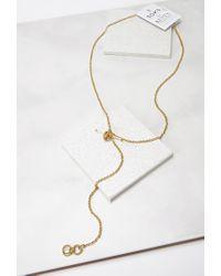 Forever 21 - Metallic Soko Lariat Necklace - Lyst