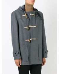Gloverall - Gray 'mid Monty' Duffle Coat for Men - Lyst
