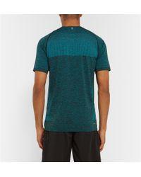 Nike | Blue Dri-Fit Running T-Shirt for Men | Lyst