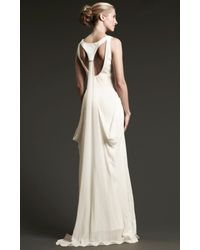 Nicole Miller - White Molly Bridal Gown - Lyst