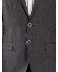 Love Moschino | Blue Striped Blazer for Men | Lyst