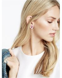 BaubleBar - Red Pansy Studs - Lyst