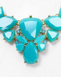 "kate spade new york | Blue Color Pop Necklace, 17"" | Lyst"