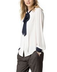 Tommy Hilfiger | White Minerva Blouse | Lyst