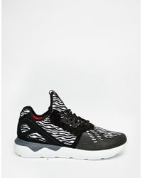 adidas Originals. Men's Black Tubular Runner Trainers B25531