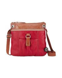 The Sak | Red Kendra Leather Crossbody | Lyst