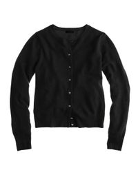 J.Crew | Black Collection Cashmere Cardigan Sweater | Lyst