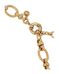 J.Crew - Metallic Gold-Tone, Faux Pearl And Crystal Necklace - Lyst