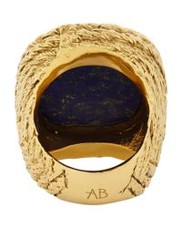 Aurelie Bidermann | Blue Miki Ring Size 6 | Lyst