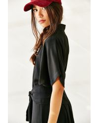 C/meo Collective - Black No Limit Maxi Shirtdress - Lyst