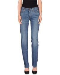 Roy Rogers - Blue Denim Trousers - Lyst