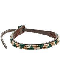 Chan Luu | Blue Seed Bead Single Bracelet | Lyst