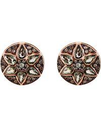 Ileana Makri - Multicolor Deco Flower Stud Earrings - Lyst
