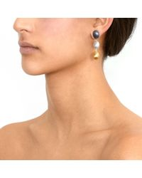 Gurhan - Metallic Jordan Drop Earrings - Lyst