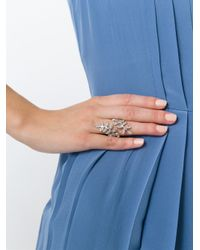 Ca&Lou - Metallic 'anne Contraire' Ring - Lyst