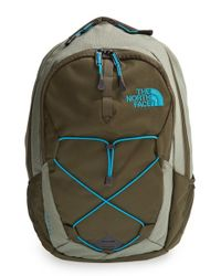 The North Face | Green 'jester' Backpack for Men | Lyst
