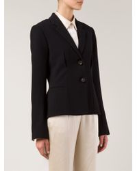 Rosetta Getty - Black Two Button Blazer - Lyst