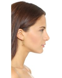 Gorjana - Metallic Viola Ear Jacket Earrings - Gold - Lyst