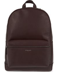 Michael Kors - Purple Dylan Milled Italian Leather Backpack - Lyst