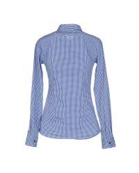Mauro Grifoni - Blue Shirt - Lyst