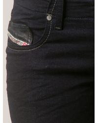 DIESEL - Blue Grupee Sweat Jeans - Lyst