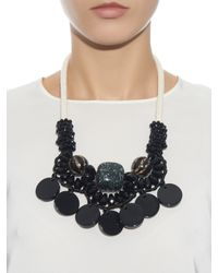 Weekend by Maxmara - Black Tema Necklace - Lyst