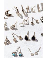 Urban Outfitters | Metallic Mega Post Earring Set | Lyst