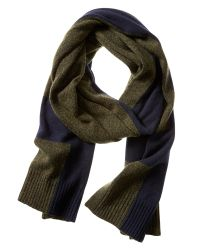 Banana Republic | Green Cross Scarf | Lyst
