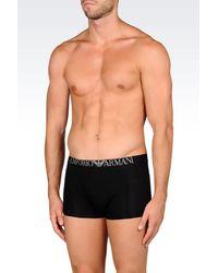 Emporio Armani - Black Boxers for Men - Lyst