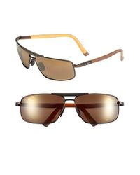 Maui Jim - Orange 'keanu - Polarizedplus2' 64mm Sunglasses for Men - Lyst