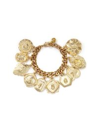 Lulu Frost - Metallic Victoria Plaza Number Charm Bracelet - Lyst