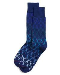 Paul Smith   Blue Graduated Ring Socks for Men   Lyst