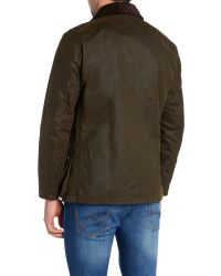Barbour | Brown Land Rover Rugby Kingshol Jacket for Men | Lyst