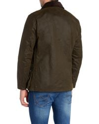 Barbour | Green Land Rover Rugby Kingshol Jacket for Men | Lyst