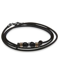 Platadepalo | Metallic Canalla Leather Bracelet  | Lyst
