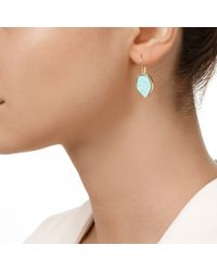 Monica Vinader | Blue Atlantis Flint Drop Earrings | Lyst