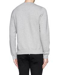 KENZO - Gray Graphic Eye Sweatshirt for Men - Lyst