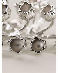 Dior Homme - Metallic Floral Brooch for Men - Lyst
