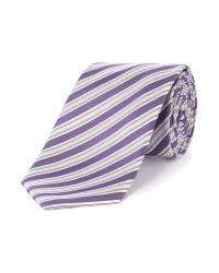 Richard James | Purple Multi Stripe Tie for Men | Lyst
