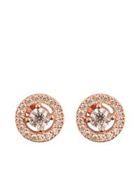 Thomas Sabo - Pink Sterling Silver Earrings - Lyst