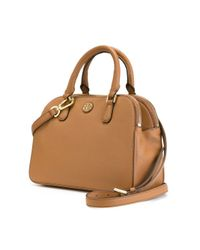 Tory Burch - Natural Small 'robinson' Tote - Lyst