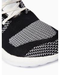 Y-3 - Black Boost Zg Knit Sneakers for Men - Lyst