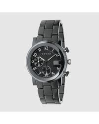 79e318c97 Lyst - Gucci G-chrono, Quartz Chronograph, 38mm in Black for Men