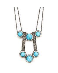 Pamela Love | Blue Comet Necklace | Lyst