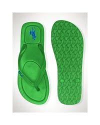 006b2b597 Lyst - Polo Ralph Lauren Halesowen Flip-Flop in Green for Men