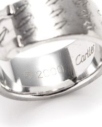 Cartier - Metallic Double C Ring - Lyst