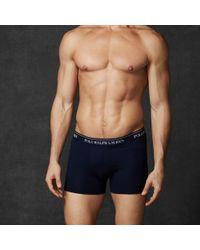 Polo Ralph Lauren | Multicolor Stretch-cotton-trunk 3-pack for Men | Lyst