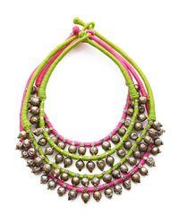 Mara Hoffman | Long Pink Badaru Necklace | Lyst